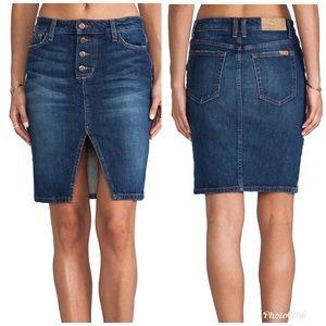 Joe's Jeans Denim Pencil Skirt - A34